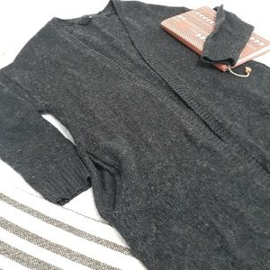 H&M Basic Gray Sweater With Pockets